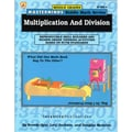 Ipgbook Masterminds Riddle Math Series Multiplication and Division Book, Grades 4 - 7