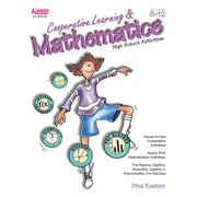 Kagan Publishing Cooperative Learning & Mathematics High School Activities Book, Grades 8 - 12