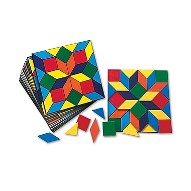 Learning Resources® Parquetry Blocks Activity Set, Grades PreK - 2