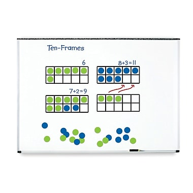 Learning Resources LER6644 Giant Magnetic Ten Frame Set