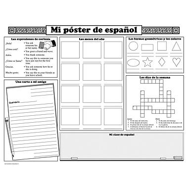McDonald Publishing Basic Spanish Activity Poster