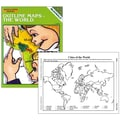 McDonald Publishing The World Outline Map