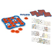 Miniland Educational School Set Pair Game