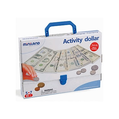 Miniland Educational Activity Dollar Game, Grades Preschool - 2