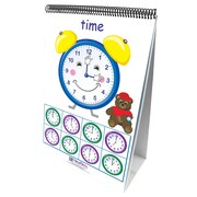 New Path Learning® Time Sense 10 Double Sided Curriculum Mastery® Flip Chart, Math