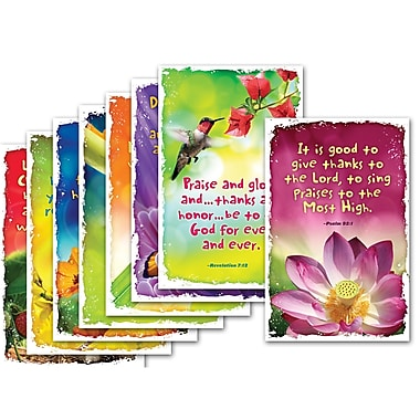 North Star Teacher Resources® Bulletin Board Set, Give Thanks To God