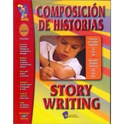 On The Mark Press® Composicion De Historias Story Writing Book