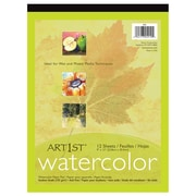 Pacon® Art1st® 12 Sheets Watercolor Pad, 9 x 12