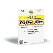"Pacon® 22"" x 28"" Super Value Poster Board, White, 50 Sheets"