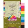 Pacon® Peacock® Sulphite Construction Paper, Assorted, 18in.(H) x 12in.(W), 50 Sheets