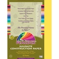 Pacon® Peacock® Sulphite Construction Paper, Yellow, 18in.(H) x 12in.(W), 50 Sheets