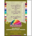 Pacon® Peacock® Sulphite Construction Paper, Bright White, 18in.(H) x 12in.(W), 50 Sheets