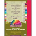 Pacon® Peacock® Sulphite Construction Paper, Holiday Red, 18in.(H) x 12in.(W), 50 Sheets