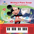 """Publications International """"Mickey's Piano Songs: Play and Learn"""" Book"""