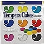 Sargent Art® 9 Count Tempera Watercolor Cakes With