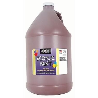 Sargent Art Non-Toxic 64 oz. Acrylic Paint, Brown (SAR222788)