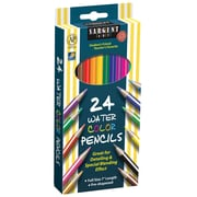 "Sargent Art SAR227205 Pre-Sharpened Assorted Watercolor Pencil, 7"", 24/Pack"