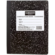 Sargent Art® Wide Ruled Hardcover Composition Notebook, 7 1/2 x 9 3/4, 100 Sheets