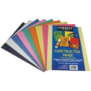 Sargent Art® Art Construction Paper, Assorted, 12(H) x 9(W), 50 Sheets