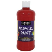 Sargent Art Non-Toxic 16 oz. Acrylic Paint, Red (24-2420)