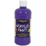 Sargent Art Non-Toxic 16 oz. Acrylic Paint, Violet (24-2442)