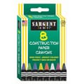 Sargent Art® 8 Piece Construction Paper Crayons