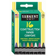 Sargent Art® 16 Piece Construction Paper Crayons