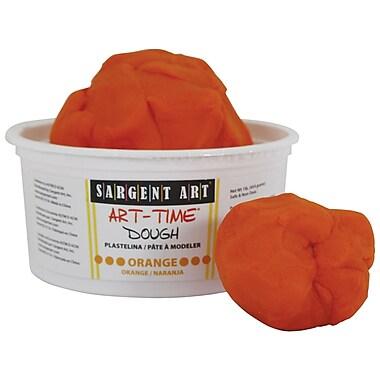 Sargent Art SAR85-3114 1 lbs. Art-Time Dough, Orange