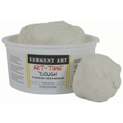 Sargent Art SAR85-3196 1 lbs. Art-Time Dough, White