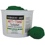 Sargent Art SAR85-3366 3 lbs. Art-Time Dough, Green
