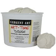Sargent Art SAR85-3396 3 lbs. Art-Time Dough, White