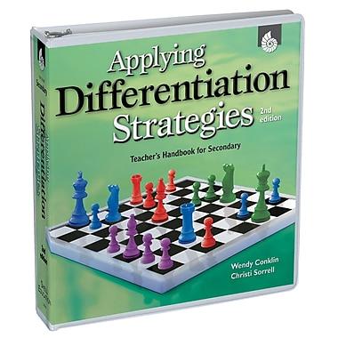 Shell Education Applying Differentiation Strategies Teachers Handbook, Grades 6 - 12