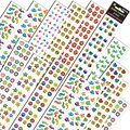 Silver Lead-Sandy Lion Jumbo Variety Assortment Q Sticker