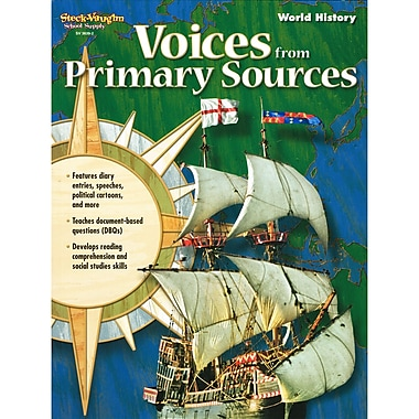 Houghton Mifflin Harcourt Voices From Primary Sources World History Workbook