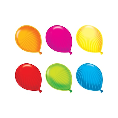 Trend Enterprises® Toddler - 12th Grade Classic Accents Variety Pack, Party Balloons