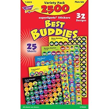 Trend Enterprises® Best Buddies Collection Superspots Sticker Variety Pack