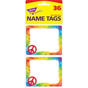 "Trend Enterprises® Name Tags, 2 1/2"" x 3"", Peace Sign"