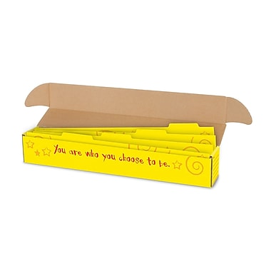 Trend Enterprises® Argus® File n Save System® Sentence Strip Storage Box With Dividers