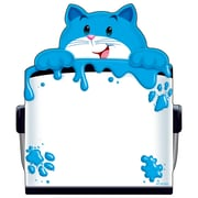 Trend Enterprises® 50 Sheets Notepad, 5 x 5, Shaped Curious Color Cat