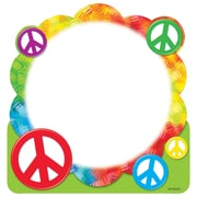Trend Enterprises® 50 Sheets Notepad, 5 x 5, Shaped Peace Signs