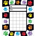 Trend Enterprises® Paw Prints Incentive Pad