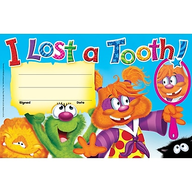 Trend Enterprises® I Lost a Tooth! Recognition Award