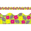 Trend Enterprises® Preschool - 9th Grade Scalloped Terrific Trimmer, Pretty Petals