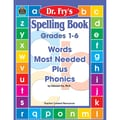 Teacher Created Resources® in.Spelling Book: Words Most Needed...in. Grade 1st-6th Book, Language Arts