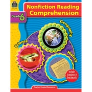 Teacher Created Resources Nonfiction Reading Comprehension Grade 6 Book, Language Arts/Reading