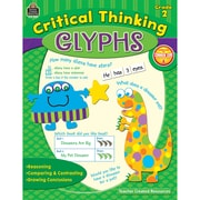 Teacher Created Resources Critical Thinking Glyphs Book, Grades 2