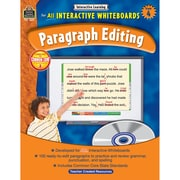 "Teacher Created Resources® ""Interactive Learning: Paragraph Editing"" Grade 4 Book, Language Arts"