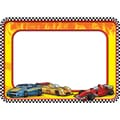 Teacher Created Resources Name Tags, 2 7/8in. x 2 1/4in., Race Cars