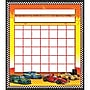 Teacher Created Resources Race Cars Incentive Chart, 36/Pack