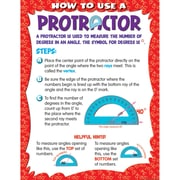 Teacher Created Resources® How to Use a Protractor Chart, Math